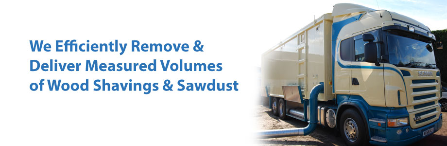 Sawdust & Wood Shavings Supply & Removal Service